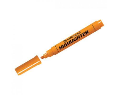 Текстовыделитель CENTROPEN Highlighter 1-5мм, оранжевый