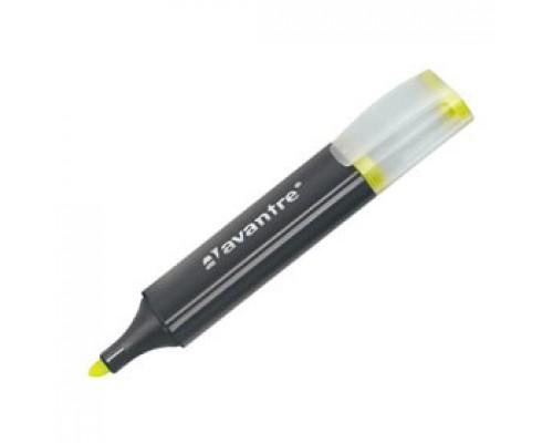 Текстовыделитель AVANTRE 1-5мм, желтый