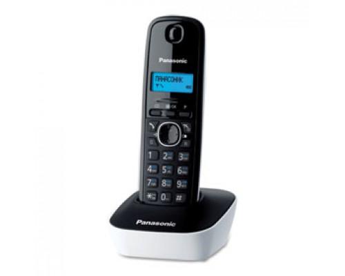 Радиотелефон PANASONIC KX-TG1611RUW, черно-белый