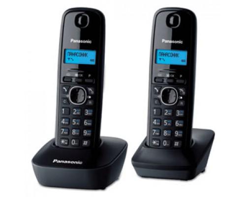 Радиотелефон PANASONIC KX-TG1612RUW, серый