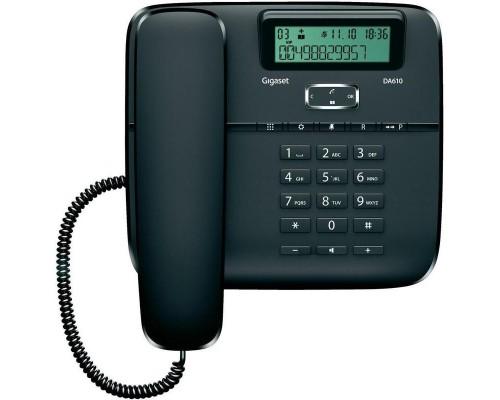 Телефон Gigaset DA610 черный