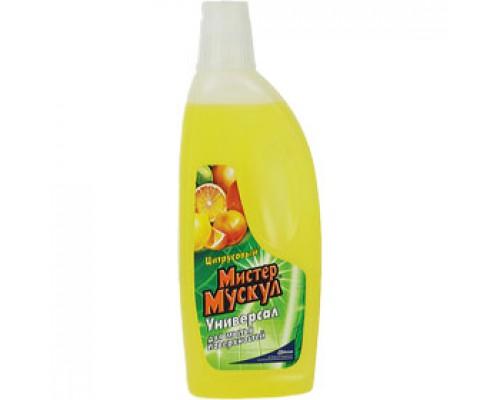 Чистящее средство Мистер Мускул универсальное Лимонная свежесть, 500мл