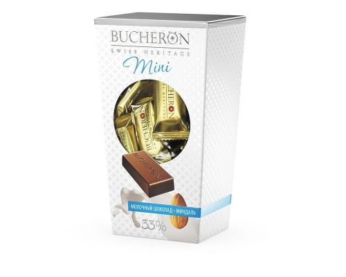 Набор конфет Bucheron mini молочный шоколад с миндалем 171г