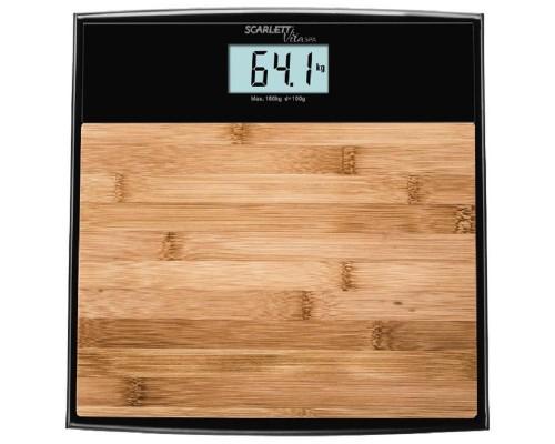 Весы Scarlett SC-BS33E064 бамбук