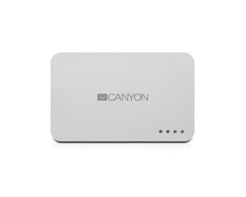 Внешний аккумулятор Canyon CNE-CPB78W 7800 mAh белый