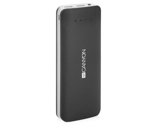 Внешний аккумулятор Canyon CNE-CPB156DG 15600 mAh темно-серый