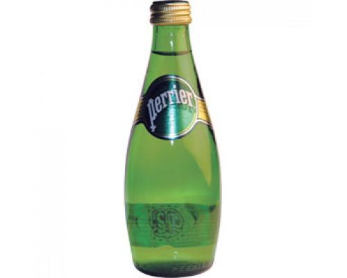 Вода минеральная Perrier, 0.33л, стекл.бутылка