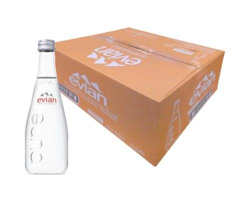 Вода минеральная Evian негазированная 0.33 л (20 штук в упаковке)