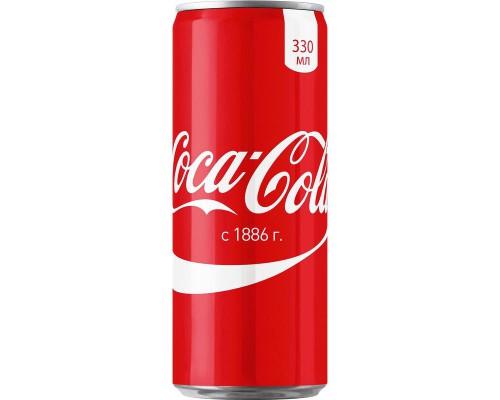 Напиток Coca-Cola газированный 0.33 л