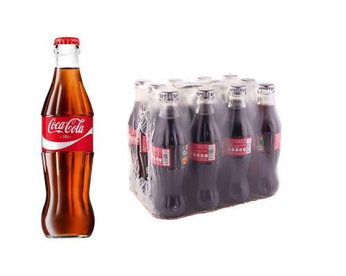 Напиток Coca-Cola газированный 0.25 л (12 штук в упаковке)