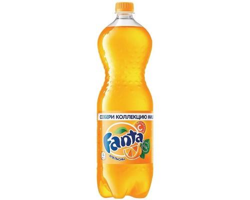 Напиток Fanta апельсин газированный 1.5 л (9 штук в упаковке)