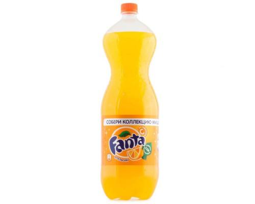 Напиток Fanta апельсин газированный 1 л (12 штук в упаковке)