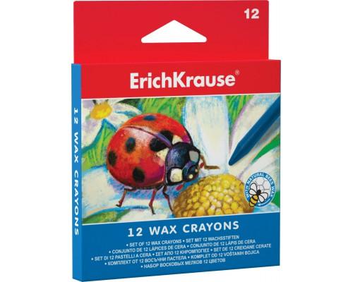 Восковые мелки Erich Krause 12 цветов, разноцветн.