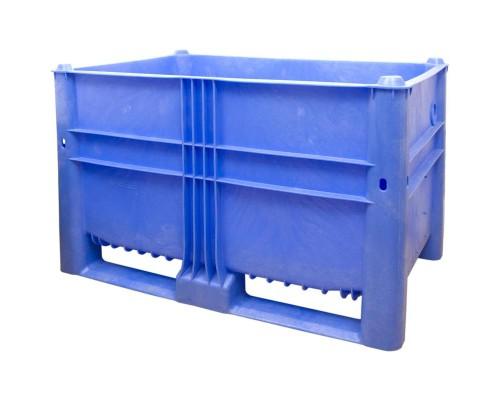 Контейнер пластиковый 1200х800х740 мм цветной (10-080-ОА-ТН 740)