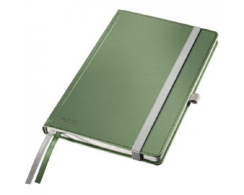 Записная книжка А5 80л, клетка, LEITZ Style, малахит