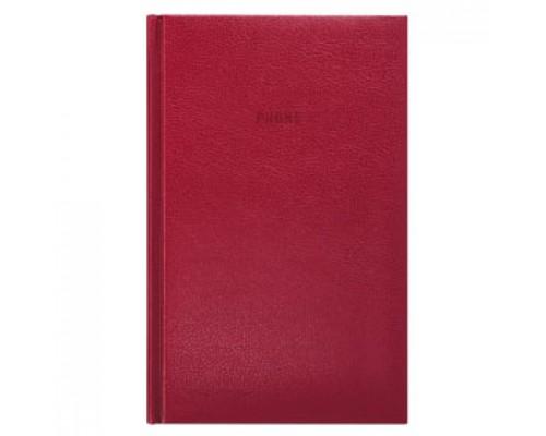 Книга алфавитная А5- 130х210мм 80л, кожзам, ERICH KRAUSE, бордо
