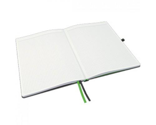 Записная книжка А4, клетка, тв. обложка, LEITZ Complete, черный
