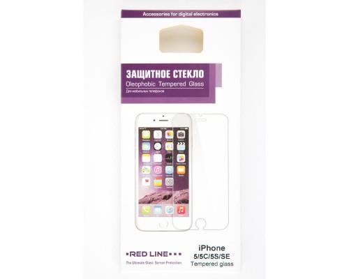 Стекло защитное iPhone 5/5C/5S/SE tempered glass