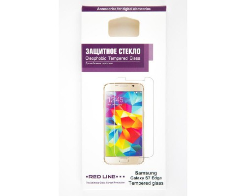 Стекло защитное Samsung Galaxy S7 Edge tempered glass